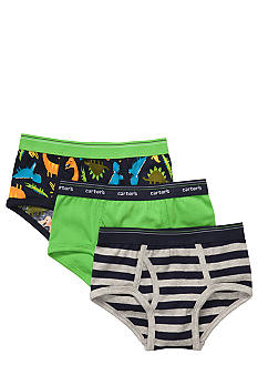 Carter's 3 Pack Dinosaur Briefs Toddler Boys