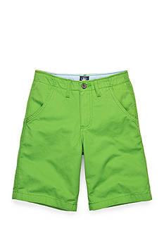 J Khaki™ Flat Front Twill Shorts Boys 8-20