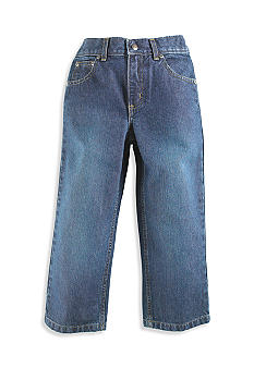 J Khaki Blue Oil Adjustable Jean Boys 4-7