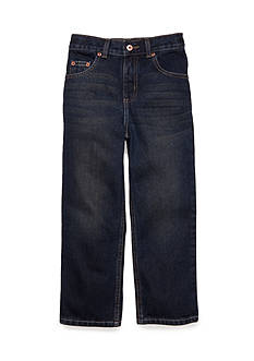 JK Indigo Straight Fit Slim Jeans Boys 4-7