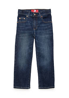J. Khaki Straight Stretch Denim Boys 4-7