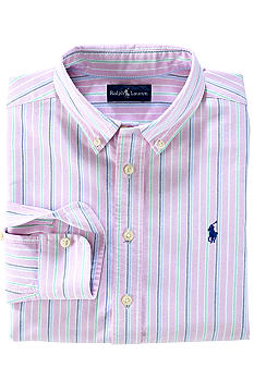Ralph Lauren Childrenswear Oxford Woven Shirt Boys 4-7
