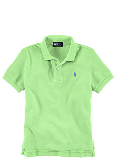 Ralph Lauren Childrenswear Mesh Polo Boys 4-7