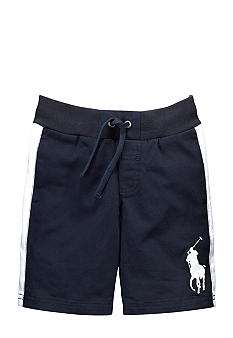 Ralph Lauren Childrenswear Stripe Side Sporty Short Boys 4-7