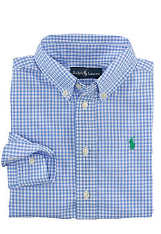 Ralph Lauren Childrenswear Button Front Woven Shirt Boys 4-7