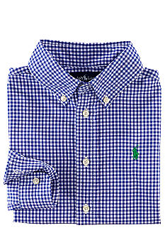 Ralph Lauren Childrenswear Gingham Button-Down Shirt Boys 4-7