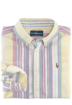 Ralph Lauren Childrenswear Striped Oxford Button-Down Shirt Boys 4-7