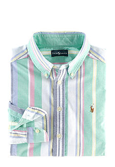 Ralph Lauren Childrenswear Striped Oxford Button-Down Boys 4-7
