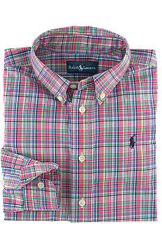 Ralph Lauren Childrenswear Plaid Button-Down Shirt Boys 4-7