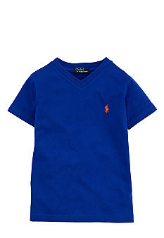 Ralph Lauren Childrenswear V-Neck Tee Boys 4-7