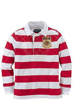 Ralph Lauren Childrenswear Heritage Rugby Shirt Boys 4-7
