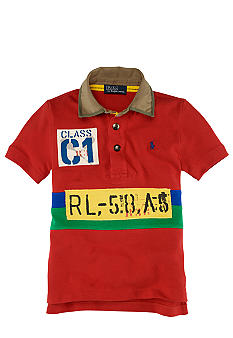 Ralph Lauren Childrenswear Sporty Graphic Polo Boys 4-7