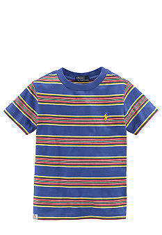 Ralph Lauren Childrenswear Preppy Striped Tee Boys 4-7