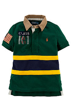 Ralph Lauren Childrenswear Novelty Mesh Polo Boys 4-7