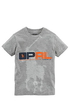 Ralph Lauren Childrenswear Screen Print Pony Tee Boys 8-20