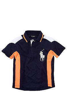 Ralph Lauren Childrenswear Navy Soft-Touch Active Polo Boys 8-20