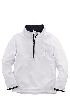 Ralph Lauren Childrenswear Half-Zip Mockneck Boys 8-20