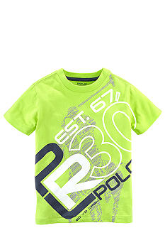 Ralph Lauren Childrenswear Sporty Screen Print Tee Boys 8-20