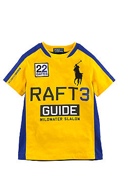 Ralph Lauren Childrenswear Yellow Wild River Tee Boys 4-7