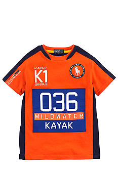 Ralph Lauren Childrenswear Orange Wild River Tee Boys 4-7