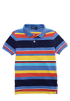 Ralph Lauren Childrenswear Multi Stripe Polo Boys 4-7