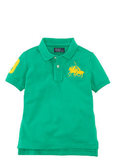 Ralph Lauren Childrenswear Dual Match Embroidered Polo Boys 4-7