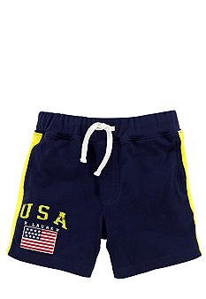 Ralph Lauren Childrenswear Americana Mesh Short Boys 4-7