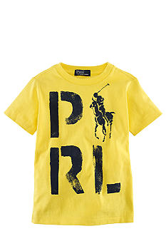 Ralph Lauren Childrenswear PRL Screenprint Tee Boys 4-7