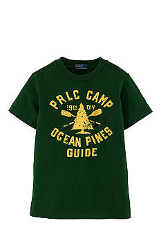 Ralph Lauren Childrenswear Camp Tee Boys 4-7