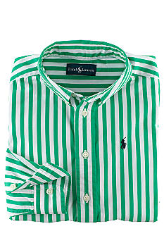 Ralph Lauren Childrenswear Blake Poplin Shirt Boys 4-7
