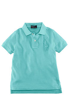 Ralph Lauren Childrenswear Tonal Embroidered Pony Polo Boys 4-7