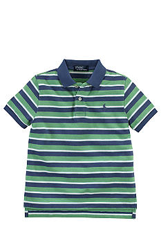 Ralph Lauren Childrenswear Striped Polo Boys 4-7