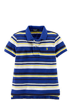 Ralph Lauren Childrenswear Vibrant Stripe Essential Polo Boys 4-7