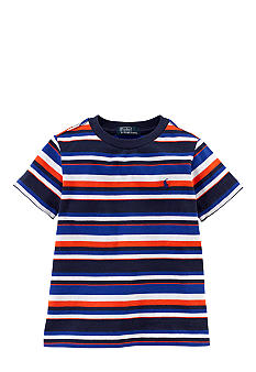Ralph Lauren Childrenswear Contrasting Stripes Tee Boys 4-7