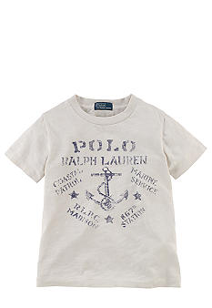 Ralph Lauren Childrenswear Anchor Graphic Tee Boys 4-7