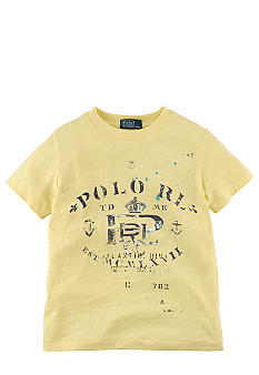 Ralph Lauren Childrenswear Nautical Graphic Tee Boys 4-7