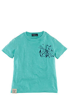 Ralph Lauren Childrenswear Marine Graphics Tee Boys 4-7