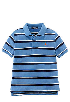 Ralph Lauren Childrenswear Horizontal Stripe Essential Polo Boys 4-7