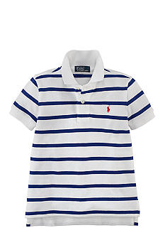 Ralph Lauren Childrenswear Thin Stripe Polo Boys 4-7