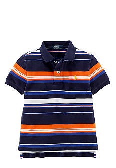 Ralph Lauren Childrenswear Preppy Striped Polo Boys 4-7
