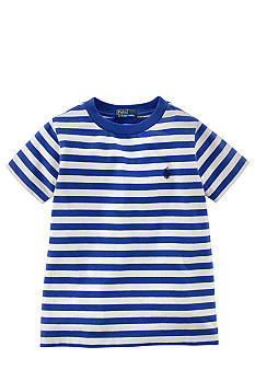 Ralph Lauren Childrenswear Horizontal Stripe Classic Tee Boys 4-7