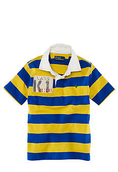 Ralph Lauren Childrenswear Sporty Short Sleeved Polo Boys 4-7