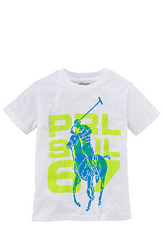 Ralph Lauren Childrenswear Graphic PRL Active Tee Boys 4-7
