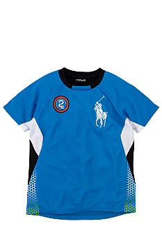 Ralph Lauren Childrenswear Active Pieced Crewneck Shirt Boys 4-7