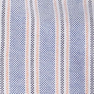 Ralph Lauren Boys: Blue Multi Ralph Lauren Childrenswear 7 YD OXF STRIPE-LS B