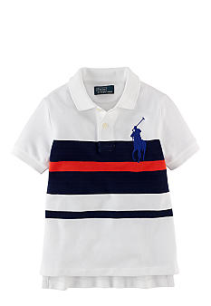 Ralph Lauren Childrenswear Bold Stripe Polo Boys 4-7