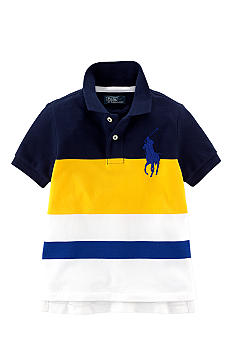 Ralph Lauren Childrenswear Bold Striped Polo Boys 4-7
