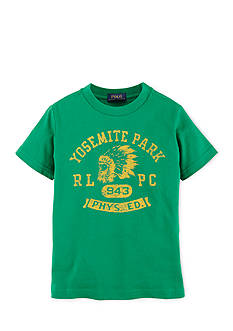 Ralph Lauren Childrenswear Polo Guide Heritage Tee Shirt Boys 4-7