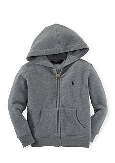 Ralph Lauren Childrenswear Long Sleeve Full-Zip Hoodie Boys 4-7