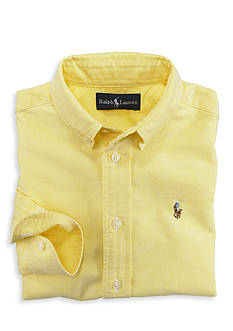 Ralph Lauren Childrenswear Oxford Sport Shirt Boys 4-7
